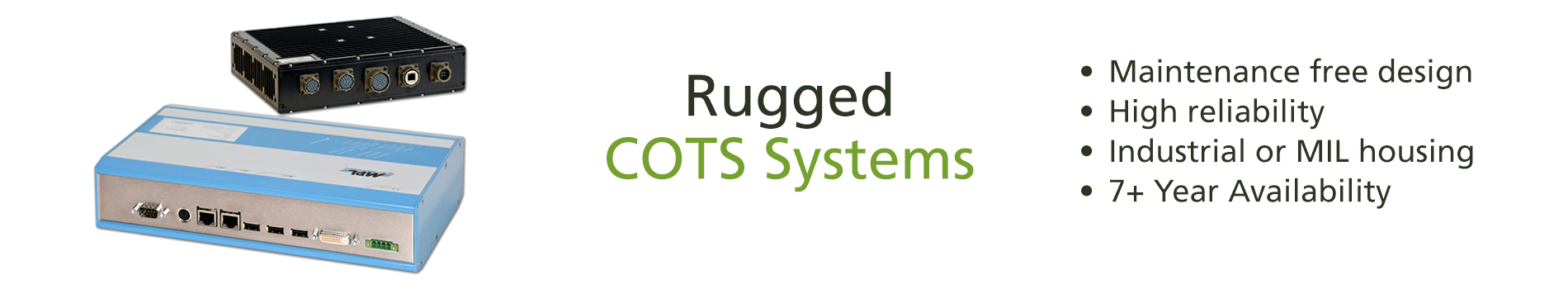 Rugges COTS Systems