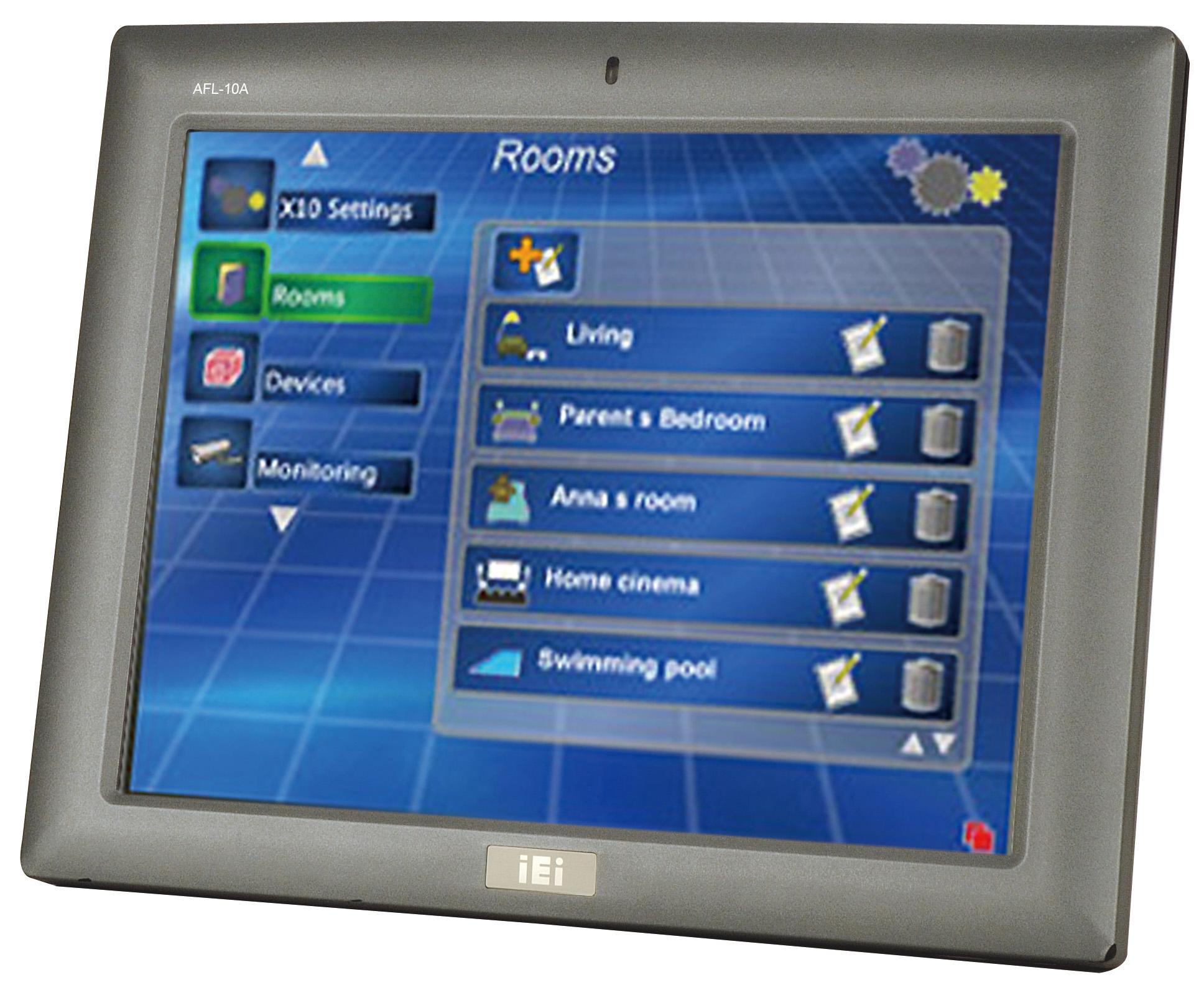 Afl 10a N270 10 4 Quot Fanless Intel 174 Atom Panel Pc Tusk