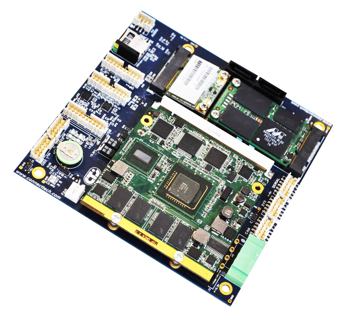 Qseven Gen 2.0 Carrier Board