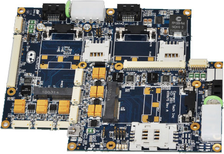Ultra Lite and Lite Qseven Carrier Board